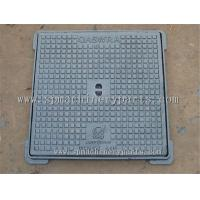 Quality Light Duty EN124 B125 Iron Casting Rectangular Manhole Covers With Frames for sale