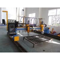 Quality Automated Industrial Plasma CNC Cutter Machine With Hypertherm Power / Servo Motor for sale