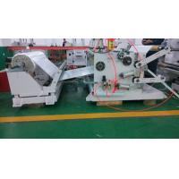 China Double - Shaft Abrasive Tape / Blank Label Slitting Machine With PLC System on sale