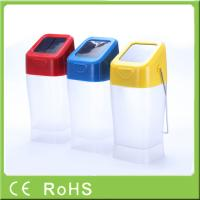 China Factory wholesale cheap price rechargeable emergency hanging solar led lantern on sale