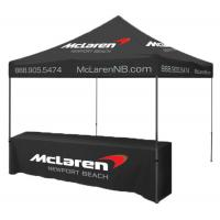 China Stable Portable Folding Tent , 2x2 Heavy Duty Instant Tent Waterproof Fabric on sale