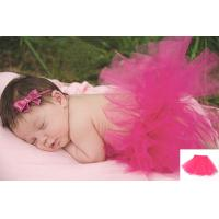 Best Rose pink Newborn Baby Photography Props Beautiful TUTU Infant Photo Dressing wholesale