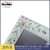 Quality Personalized Glass Wedding Picture Frames Various Color / Size Delicate Design for sale