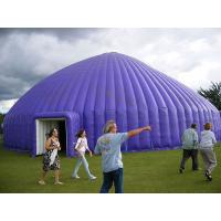 Best Flexible Outdoor Inflatable Camping Tent Purple Large 420D Oxford Cloth wholesale