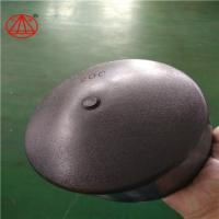 China HDPE Butt Fusion End Cap / Pipe End / Pipe Cap ,total raw matrial ,black on sale