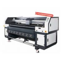 Buy cheap Multi Color Hybrid UV Printer With Double DX5 Heads Printing Width 1800mm from wholesalers