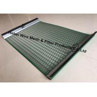 Quality Durable High Penetration Shale Shaker Screen Triple Layer Laminated Wire Mesh for sale