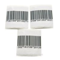 Quality RF Small Square Garment Electronic Shelf Mini Hammer Tag / Durable Barcode Labels for sale