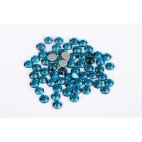 Buy Lead Free Hotfix Crystal Rhinestones High Color Accuracy Wear Resistance at wholesale prices