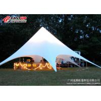 China Outside Catering Star Shade Tent For Outdoor Party UV - Resistance on sale