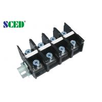 Quality Power Terminal Block 32.00mm 175A Black Screw Mount Connection for sale