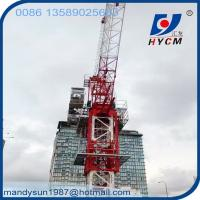 China QTD160(4043) Luffing Jib Internal Climbing Tower Crane for High Rising Buliding on sale