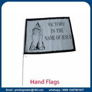 Buy cheap Custom Small Mini Hand Held Waver Flags from wholesalers
