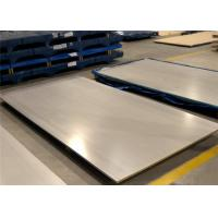 China Heat Resistant 316l Stainless Steel Plate , SS Carbon Steel Plate Resist Fire on sale