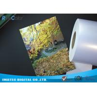 China High Glossy Metallic Inkjet Media Supplies 260gsm Resin Coated Inkjet Photo Paper on sale
