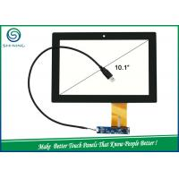 Quality USB IIC Interface Capacitive Touch Panel , 10.1'' Projected Capacitive Touch Screen for sale