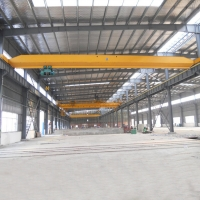 Quality Compact 6.5m Span 5T Single Girder Industrial Overhead Crane for sale