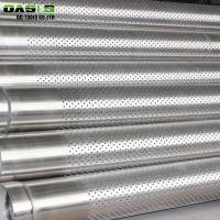 Quality Water / Oil Well Drilling Perforated Stainless Steel Pipe API 5CT Staggered for sale