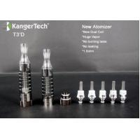 China Kanger newest Botom Dual Coil Clearomizer T3D clearomizer Best Price on sale