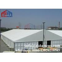 China Wooden Flooring Marquee Party Tent For Luxury Party Decorate White Color on sale