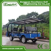 Buy G1S8 Disabled Electric Sightseeing Bus With USA Curties Controller 300A at wholesale prices