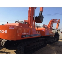 Quality Hitachi Ex200-1 20T Used Crawler Excavator Without Computer for sale
