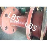 Quality Slow Speed Lebus Grooved Drum For Hydraulic Crane Winch And Ships for sale