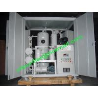 Buy cheap Supply 50KVA to 400 KVA Transformer Used Oil Purification System,oil cleaning plants  With Weather Proof Shelter from wholesalers
