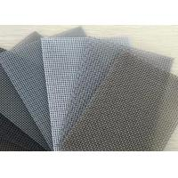 Quality Durable Aluminum Window Screen Roll / Insect Screen Mesh 4ft X 100ft Size for sale