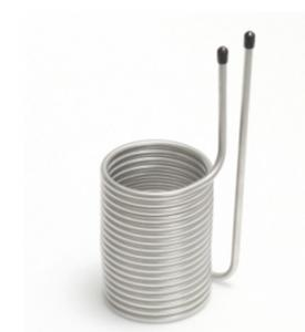 """Quality 6"""" Stainless Steel Coaxial Heat Exchanger Square Head  Corrosion Resistance for sale"""