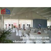 China Custom Stable Marquee Party Tent For Exhibition Booth Water Resistant on sale
