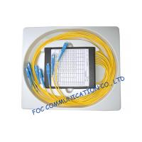 Quality Compact Fused Biconical Taper FBT Coupler , optical fiber coupler for LAN Systems for sale