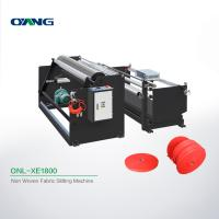 Quality Plate Non Woven Slitting Machine / Automatic Stretch Film Slitting Rewinding Machine for sale