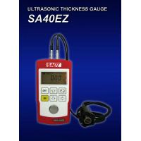 Quality 4 digits LCD display Ultrasonic Thickness Gauge SA40EZ for testing wall thickness and velocity for sale