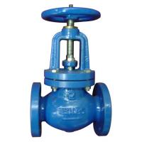 Quality BS5163  Metal Seated Cast Iron Globe Valve  PN10 / PN16 For Water Oil Steam for sale