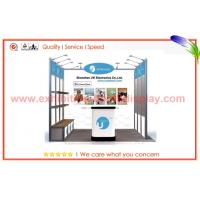 Best 10ft x 10ft Portable / Resuable Fabric Display Stands With Reception Desk wholesale