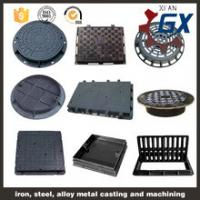 Buy Round And Square Ductile Manhole Cover, EN124 Heavy Duty Ductile Cast Iron at wholesale prices