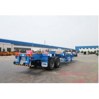 Quality Commercial Small Flatbed Trailer 35 Tons Port Yard Chassis For Container Transporting for sale