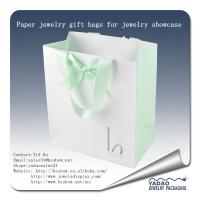 China Wholesale Attractive  newest  design of paper shopping gift bags with logo for jewelry storage display on sale