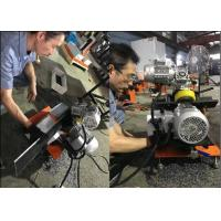 China Smooth Cutting Portable Plate Beveling Machine With 4 Blades Rustproof on sale