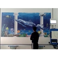 Quality 12m2/H CMYK TX800 Epson Wall Mural Printer 400ml Ink for sale