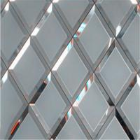 China Silver mirror Mirror Wall Decor glass can prettify the room on sale