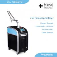 Buy cheap FAIREAL MED Picosecond Laser Q switch Nd Yag laser Tattoo Removal machine from wholesalers