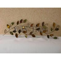 China Exquisite Metal Crafts of Tri-tone Leaf on sale