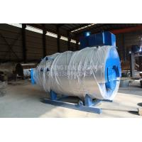 Quality Commercial Food Factory Gas Fired Steam Boiler Fire Tube Structure CE Certificated for sale