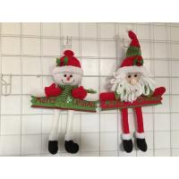 China Christmas wood craft  christmas gift hanging item decoration on sale