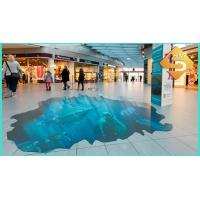 Best point of sale floor advertising stickers wholesale