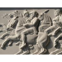 Quality marble relief, marble panel carved by hand,polished , relief for Europe client for sale
