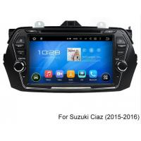 Quality WIFI 2015 Ciaz Suzuki DVD GPS Navigation Audio Bluetooth With 8 Inch 1024 X 600 Screen for sale