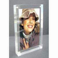 Buy cheap Acrylic Photo Frame in Fashionable Shape and Multi-duty, Customized Sizes and Designs are Accepted from wholesalers